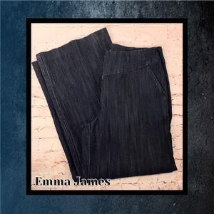 👖 Emma James Wide-Leg Stretch Jeans